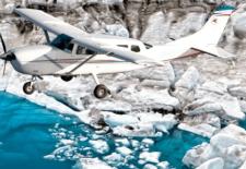 vyhlídkový let letadlem nad Islandem